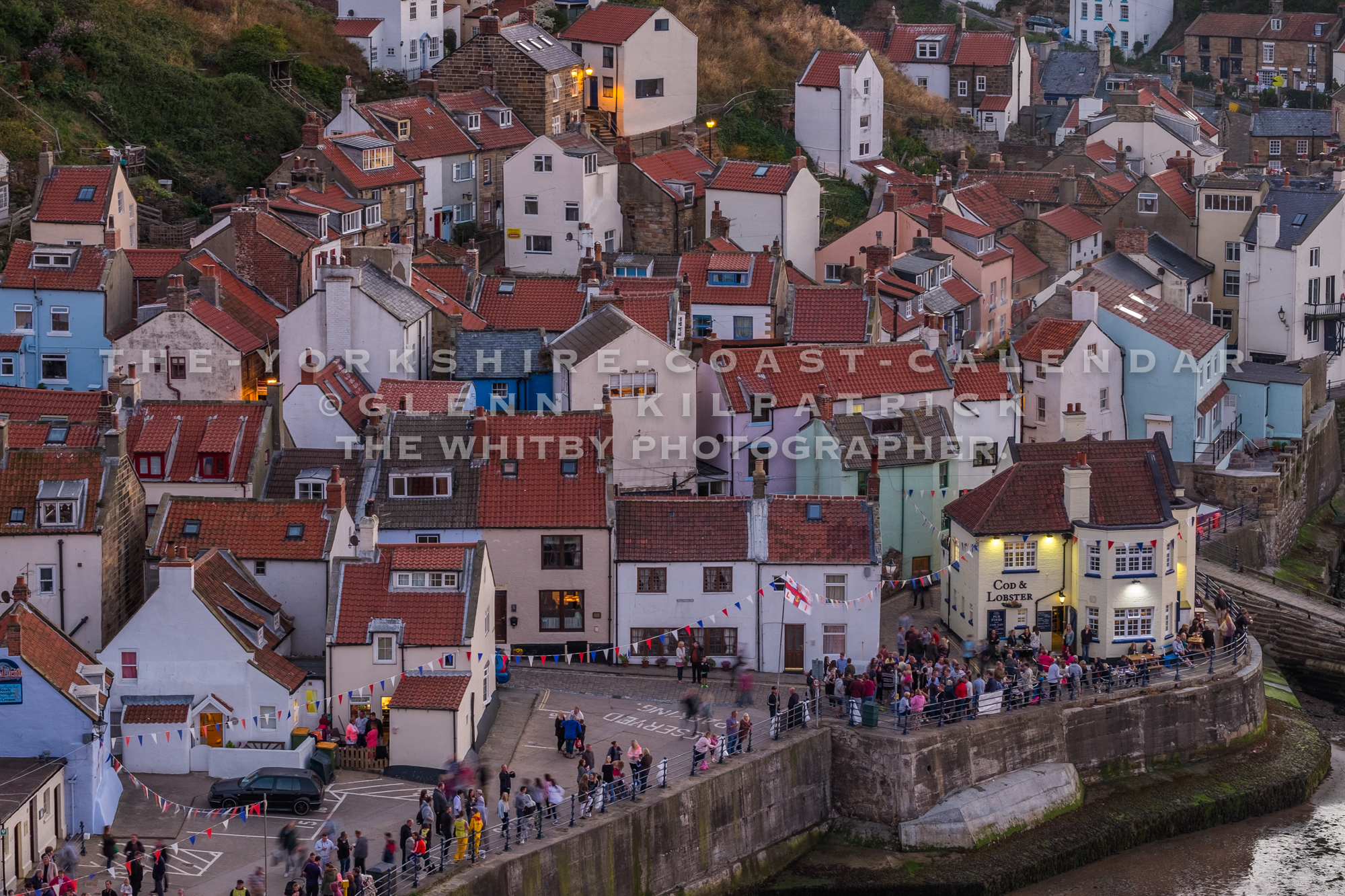 The Beautiful Village Of Staithes - The Yorkshire Coast Calendar 2018 By Glenn Kilpatrick.
