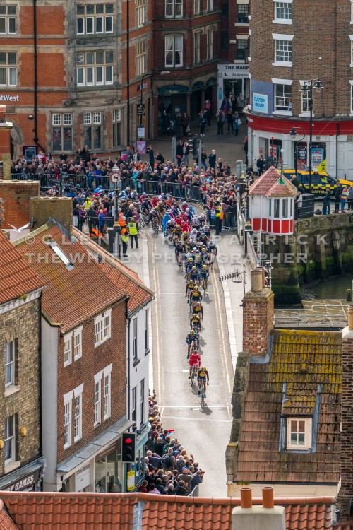 Tour De Yorkshire At Whitby Swing Bridge