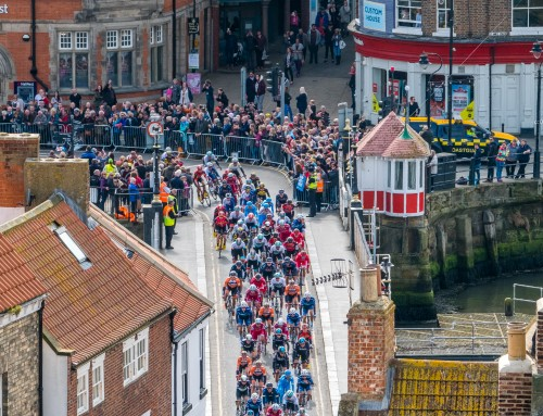 The Tour De Yorkshire Comes To Whitby
