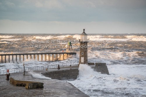 Storms At Whitby And The Yorkshire Coast