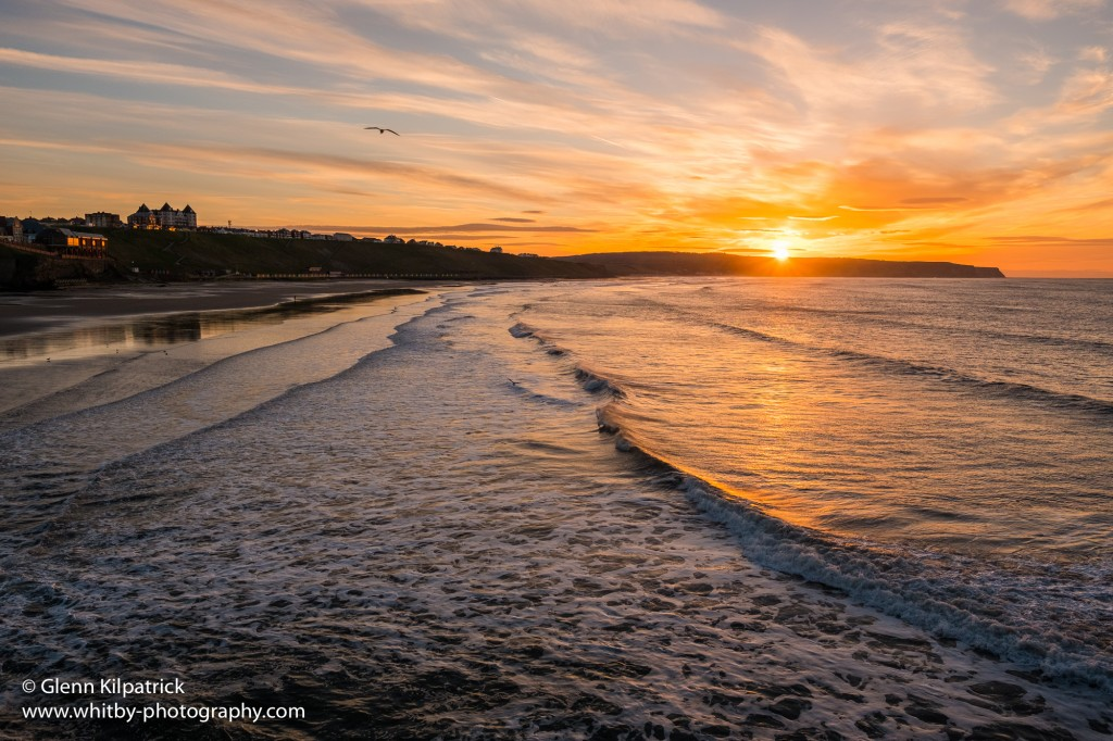 Whitby Sunsets - Where The Sun Sets In April At Whitby