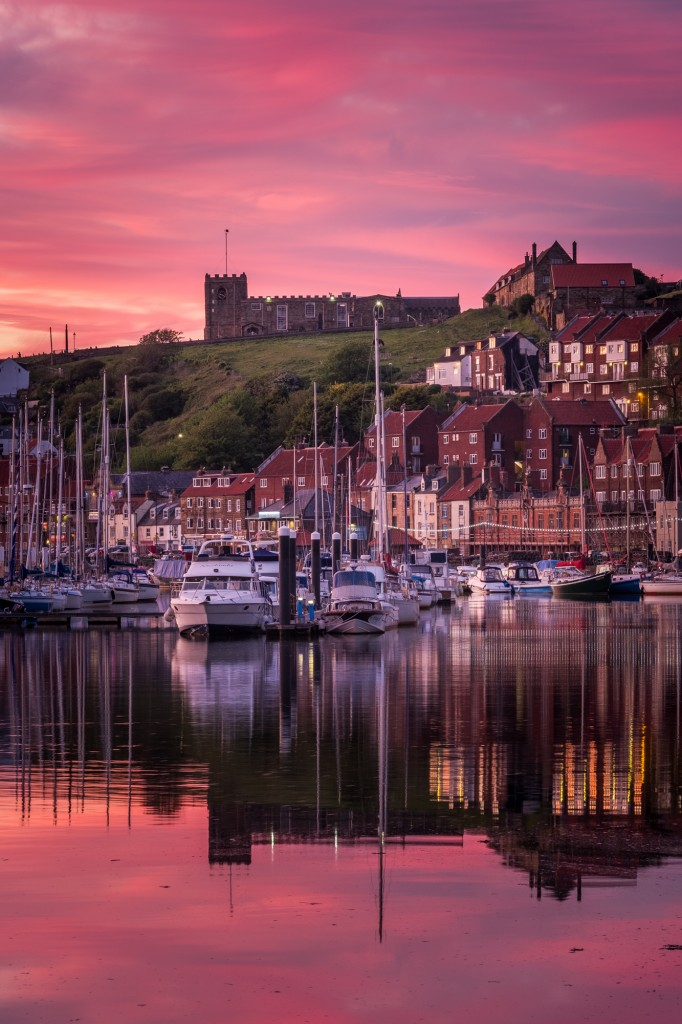 May Sunset - May 2017, Taken From The Old Shipyard Area At Whitby