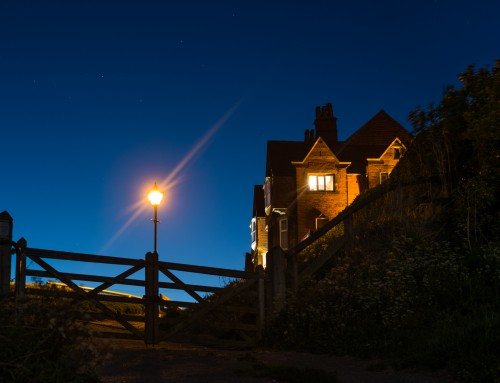 Another Moonlit Night At Robin Hoods Bay
