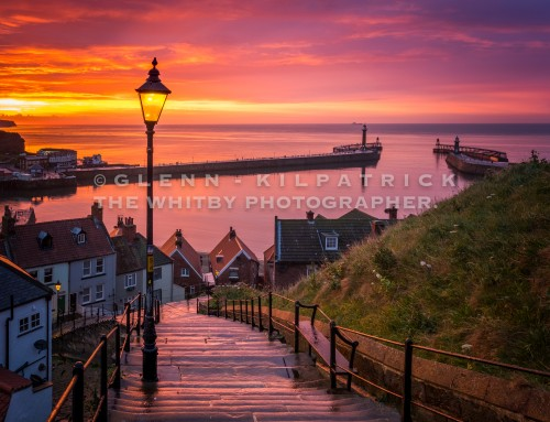 Never Say Never – Whitby 199 Steps Sunsets