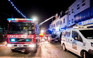 Whitby Magpie Cafe On Fire
