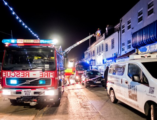 Whitby Magpie Cafe Catches Fire April 30th 2017