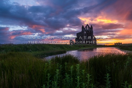 Whitby Abbey Sunset June 15th 2017