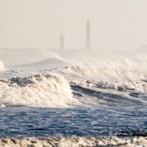 Rough Seas From Sandsend