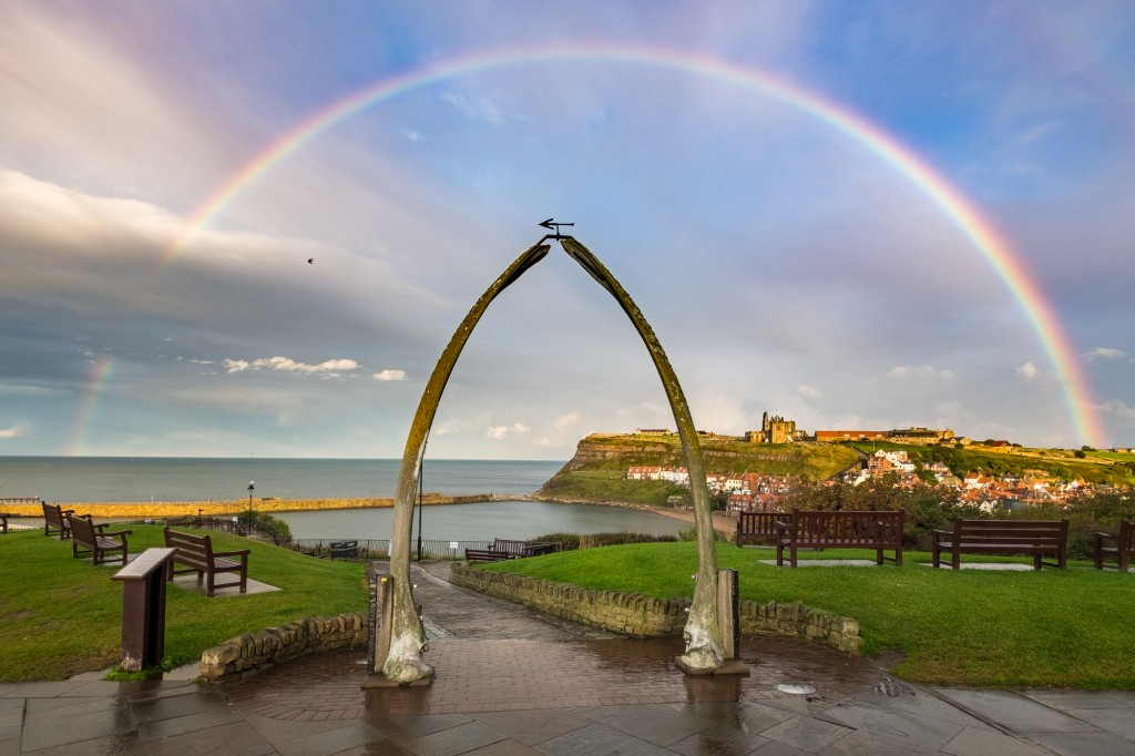 Whitby Rainbow - The daily Mail Stole My Image With No respect for Copyright Or Small Business Owners