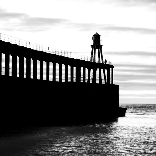 West Pier Black And White