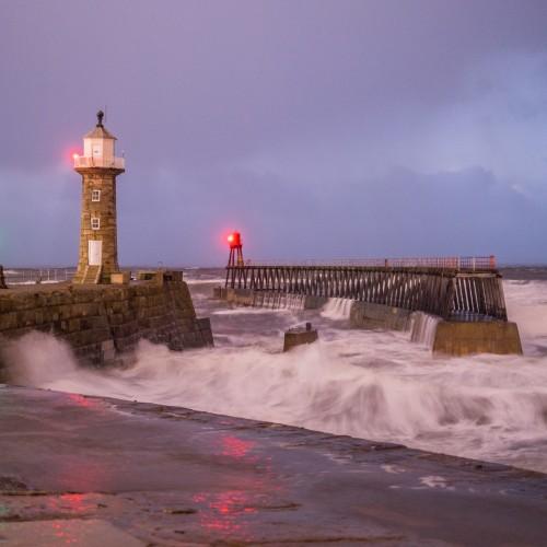 East Pier Rough Seas