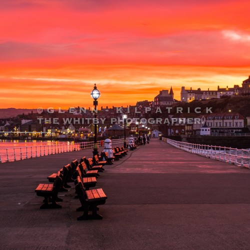 Whitby Midwinter Sunset