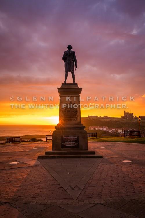 Whitby Captain Cook Sunrise - Sept 2017