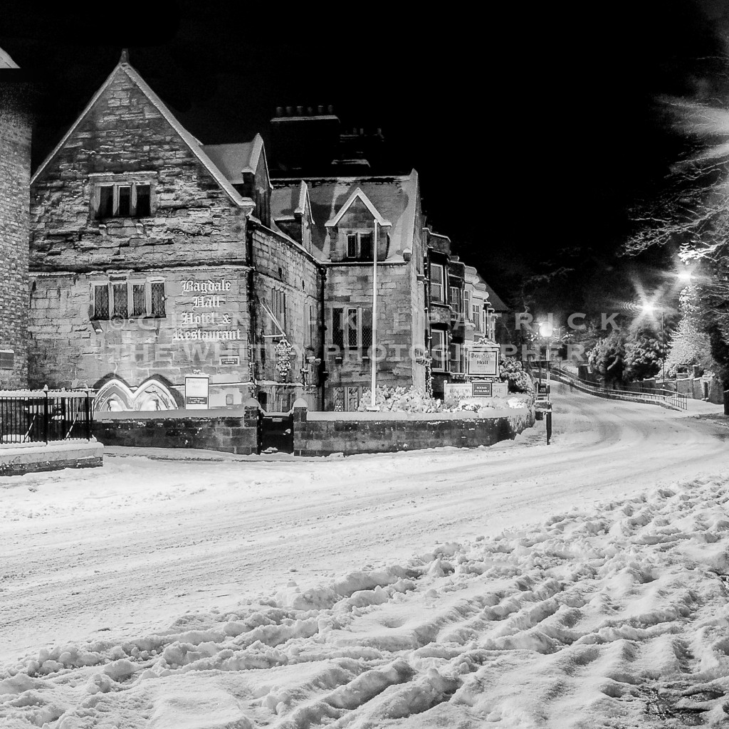 Bagdale Hall In The Snow