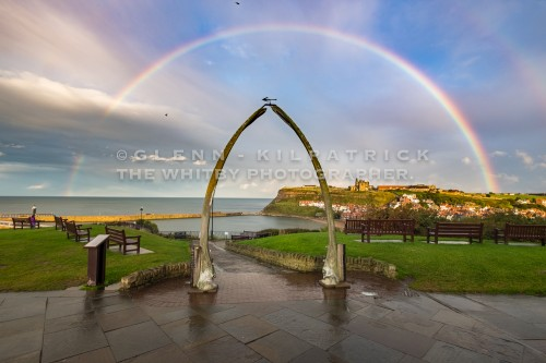 Whitby Whale Bones With Rainbow