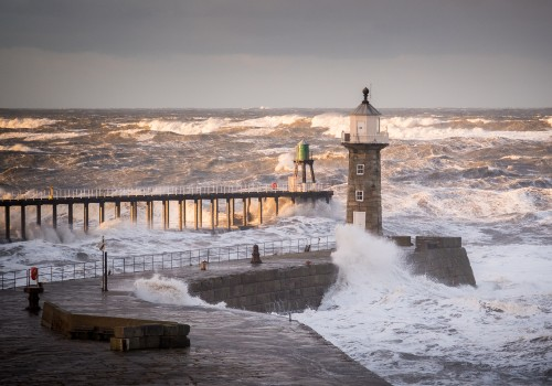 Whitby Storm Surge 2017. Storm Photography By Glenn Kilpatrick, The Whitby Photographer