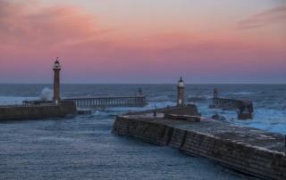 Storm Caroline Hits Whitby