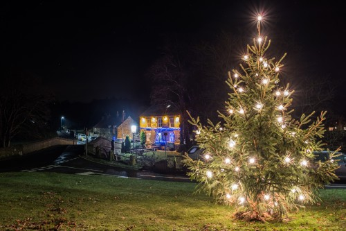Lealholm Village Christmas Scenes - A5 Card Plus Envelope