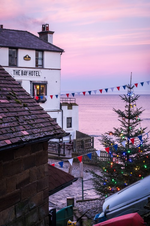 Christmas At Robin Hoods Bay