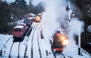 Santa Special, North York Moors Railway.
