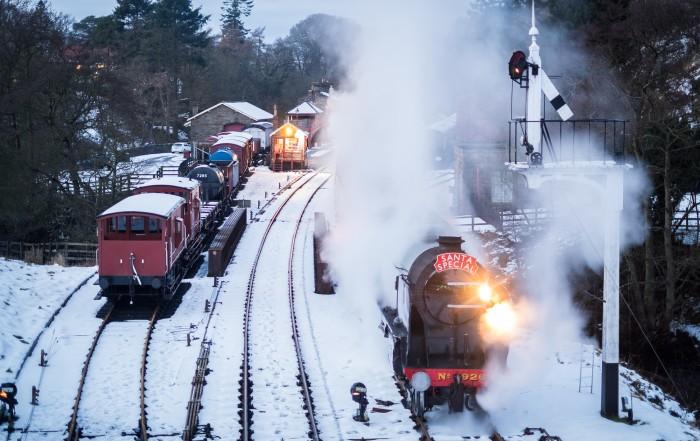 Santa Special, North York Moors Railway.