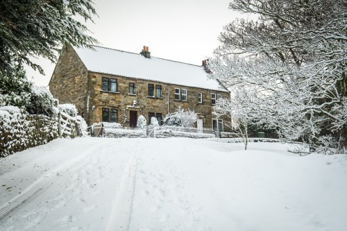 Snow At Danby, North York Moors National Park