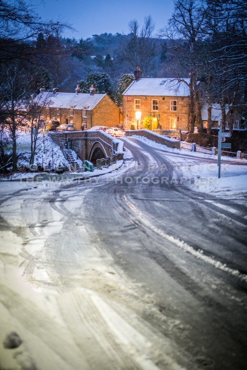 Lealholm Village In The Snow
