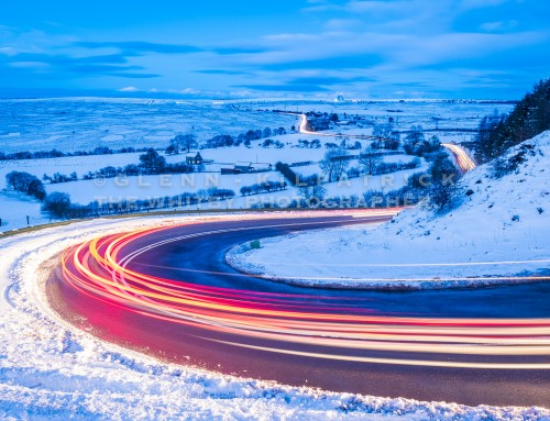 North York Moors National Park Snow Photographs