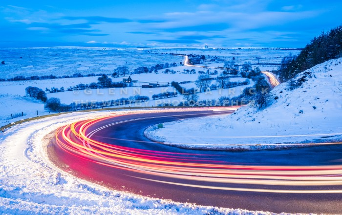 Saltersgate In The Snow. North York Moors National Park