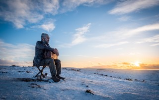 The Seated Man - Blakey Ridge, North York Moors National Park