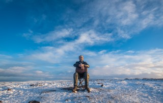 The Seated Man - Castleton Rigg, Blakey Ridge, North York Moors National Park