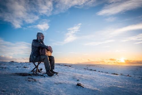 Seated Man - North York Moors National Park