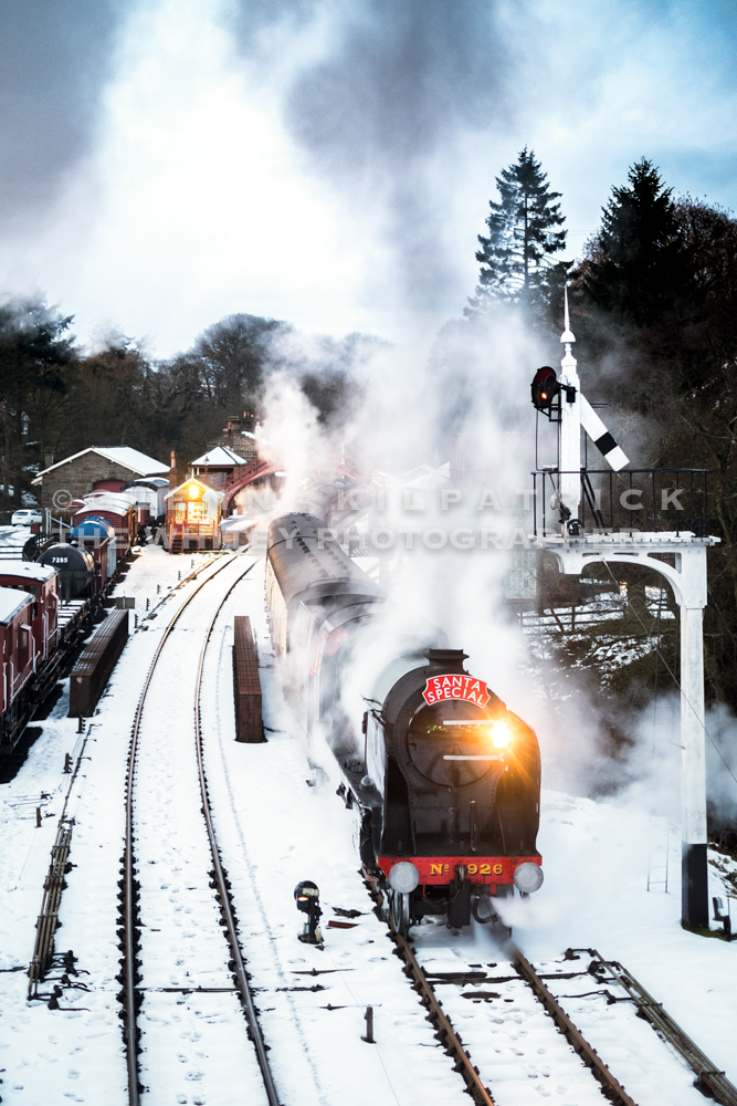 North York Moors Railway (NYMR) Santa Special