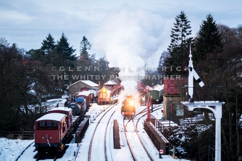 North Yorkshire Moors Railway Santa Special