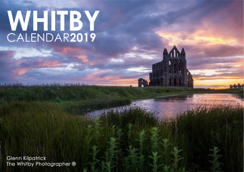 Whitby Photography Calendar 2019 - By Glenn Kilpatrick, The Whitby Photographer ®