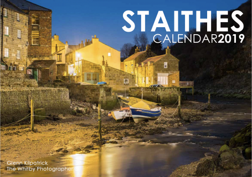 Staithes Photography Calendar 2019 - By Glenn Kilpatrick, The Whitby Photographer ®