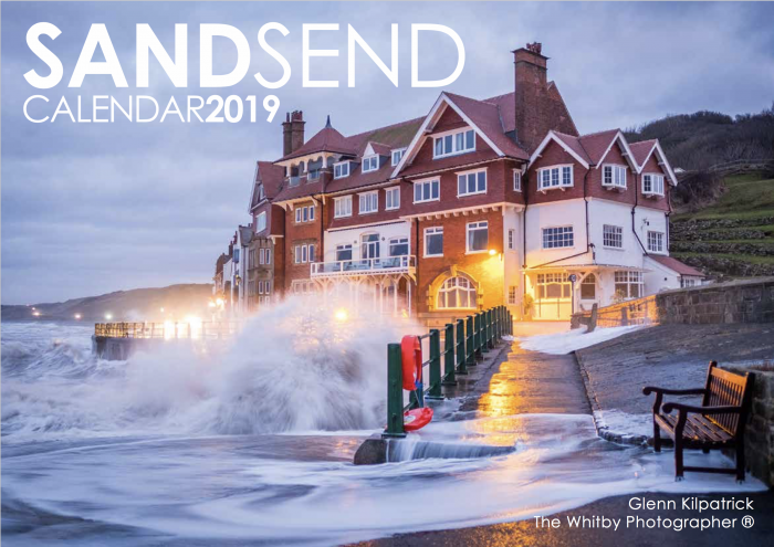 Sandsend Colour Calendar 2019 By Glenn Kilpatrick, The Whitby Photographer ®