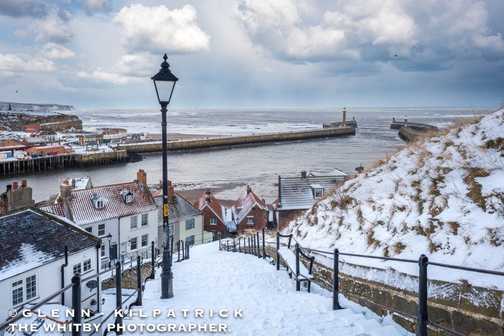Whitby In Heavy Snow P Ography By Glenn Kilpatrick The Whitby P Ographer
