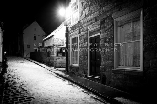 Whitby Kipper House In The Snow