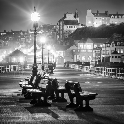 Whitby Coasters - Black And White 4 Set