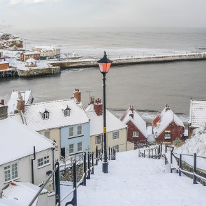 Whitby Coasters - 199 Steps In the Snow