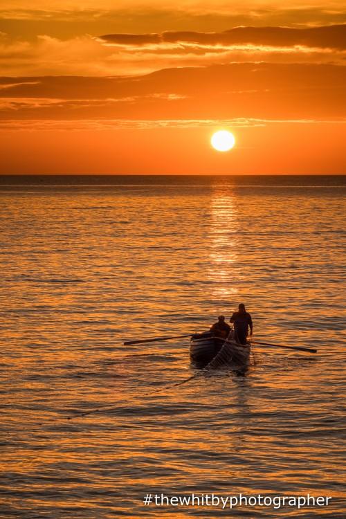 Salmon Fishermen At Whitby/Sandsend Beach