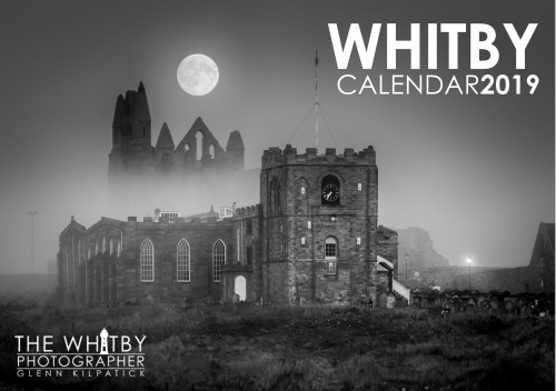 Whitby Black And White Calendar 2019