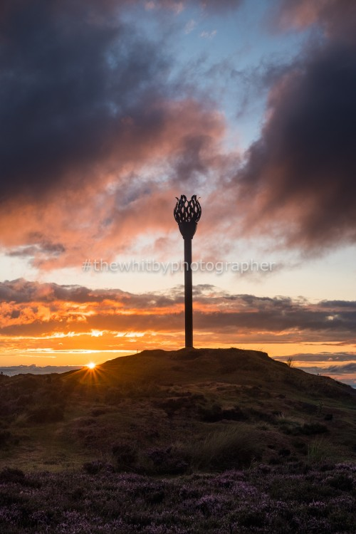 Danby Beacon, Midsummer Atmospheric Sunset