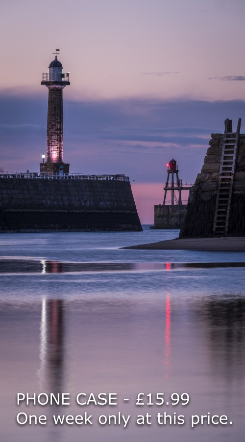 Whitby Harbour Phone Case