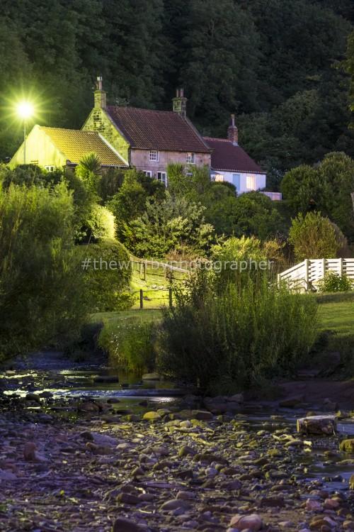 Tea Pot Hill In Summer - Sandsend Village Photograph