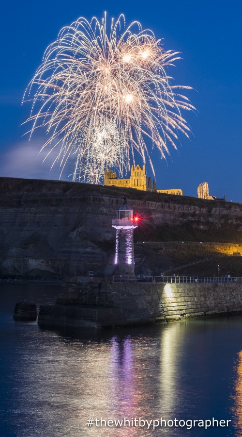 Whitby Fireworks Phone Case