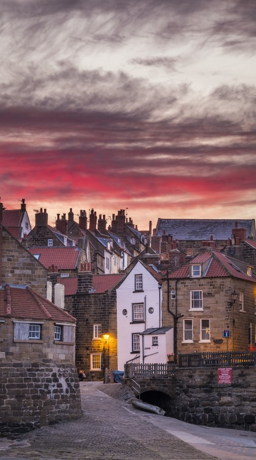 Coasters - Robin Hoods Bay Sunset
