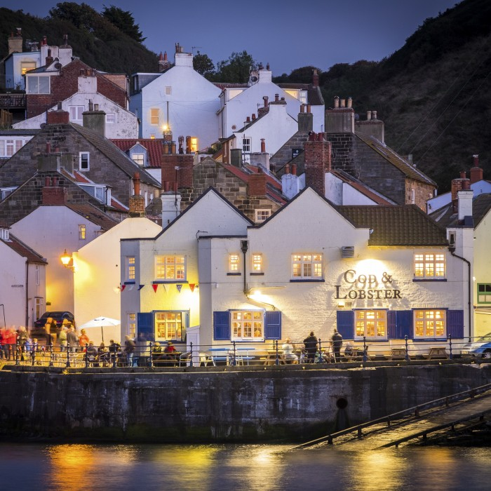 Staithes Coasters - Set Of Six Yorkshire Coasters
