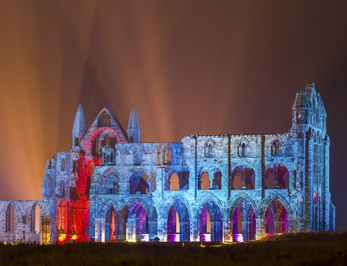2018 Whitby Illuminated Abbey Event – English Heritage